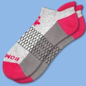 Bombas Ladies Pink Ankle Socks M